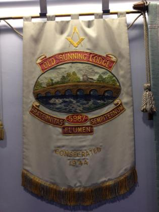 Old Sunning Banner